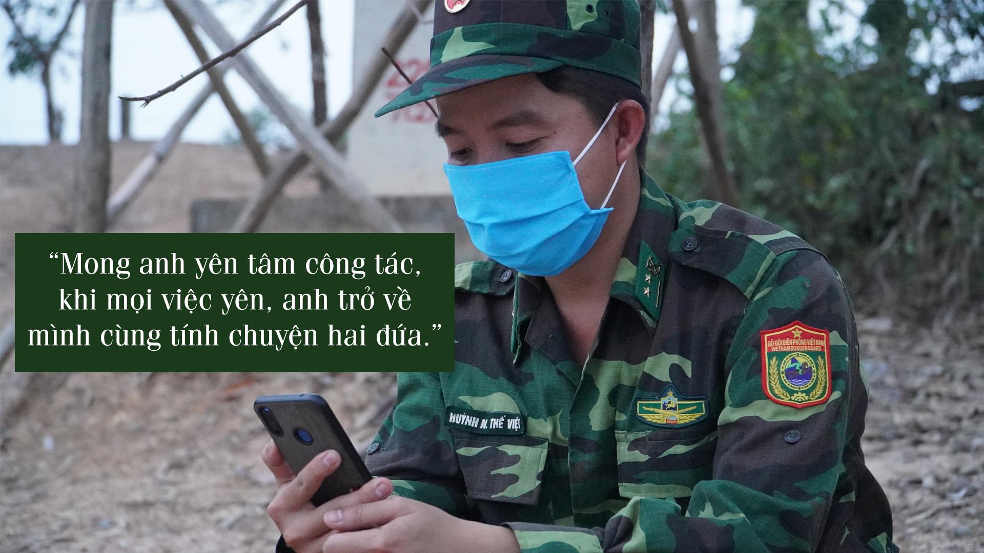 Tâm sự của chiến sĩ biên giới Tây Nam những ngày chống dịch - ảnh 5