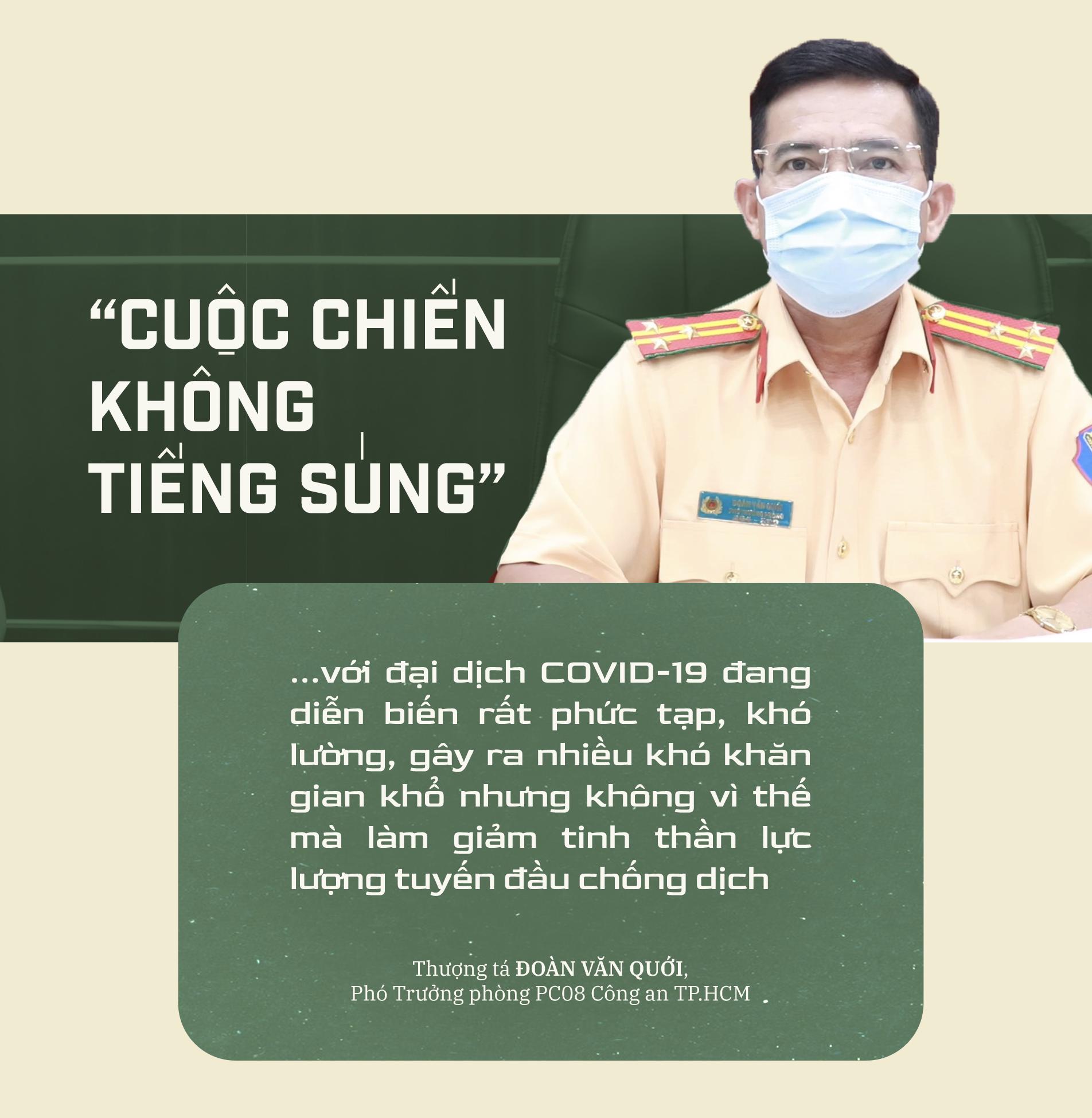 Emagazine: CSGT TP.HCM - Tấm lá chắn trong cuộc chiến với COVID-19 - ảnh 17