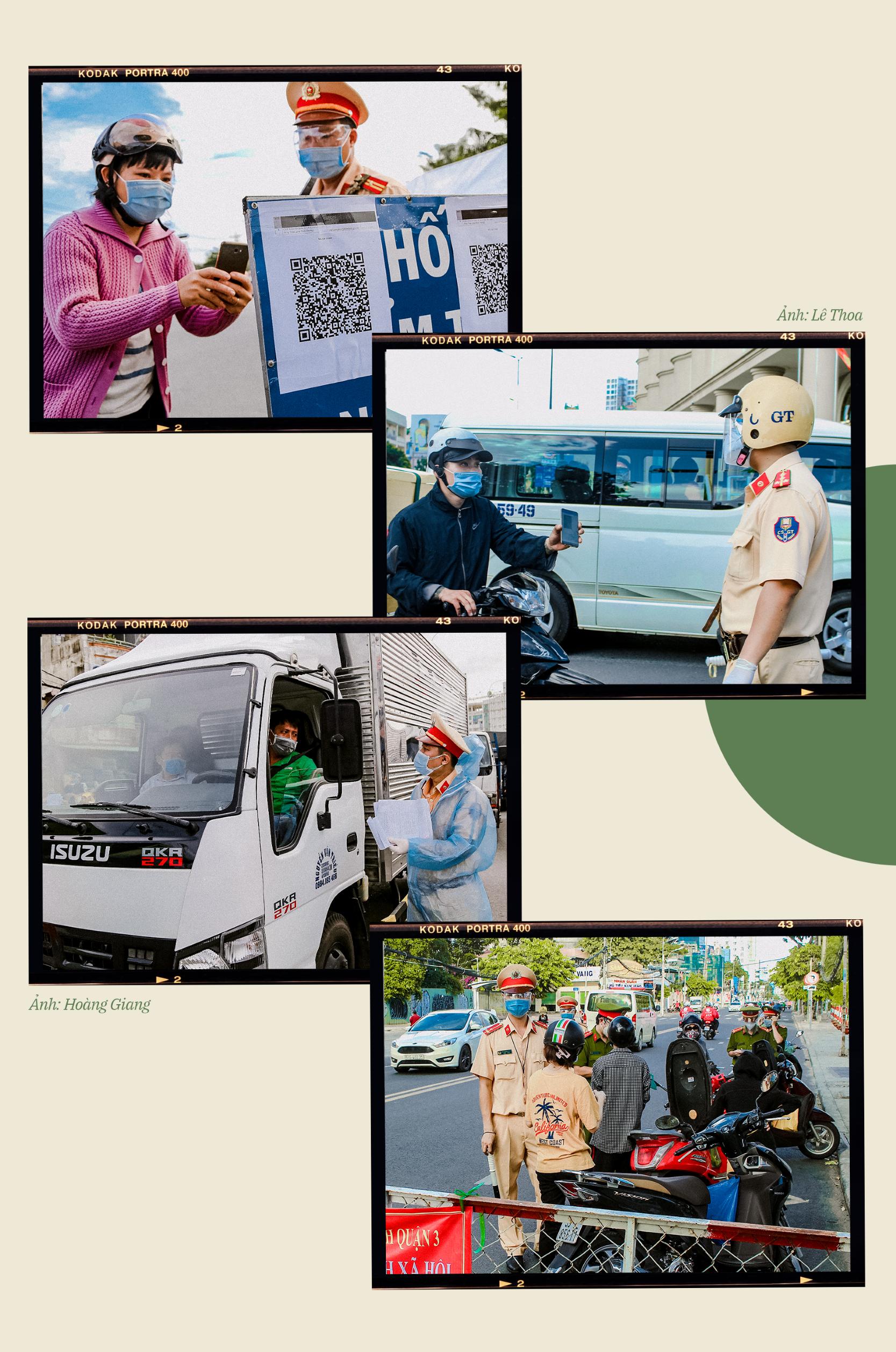 Emagazine: CSGT TP.HCM - Tấm lá chắn trong cuộc chiến với COVID-19 - ảnh 7