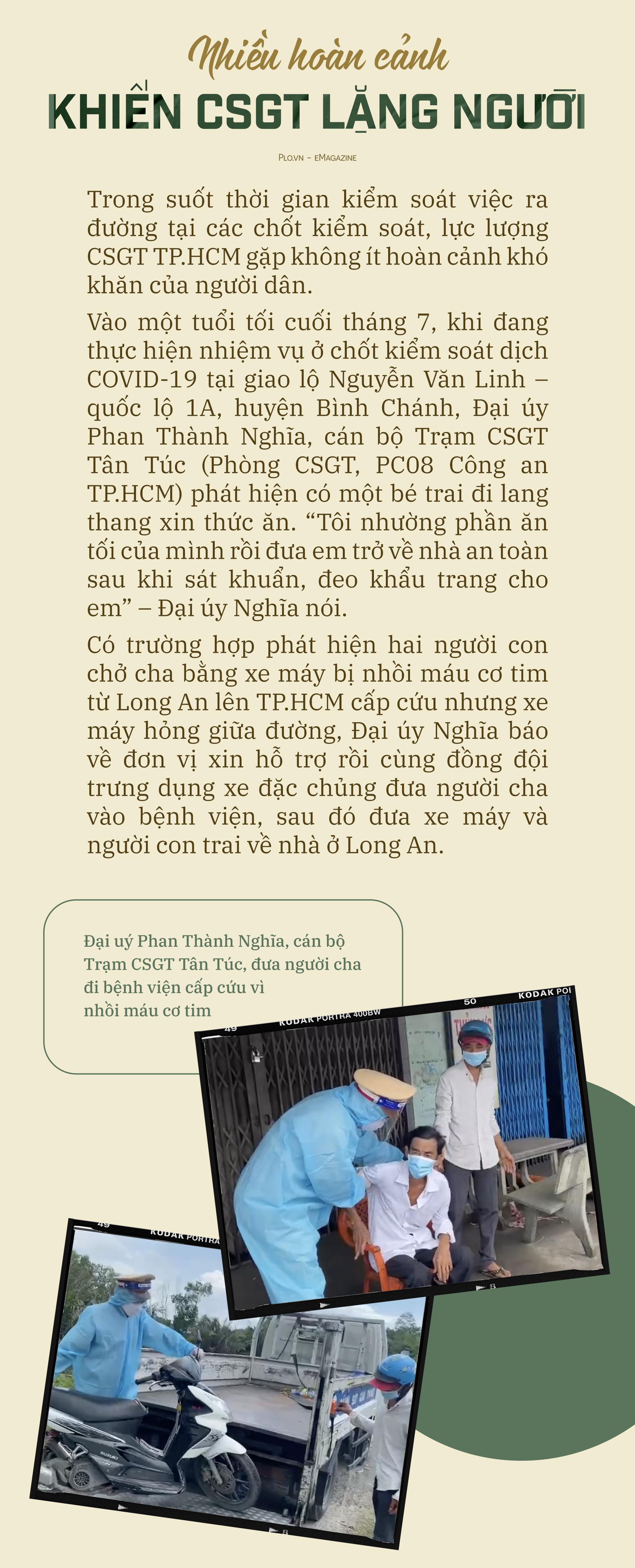 Emagazine: CSGT TP.HCM - Tấm lá chắn trong cuộc chiến với COVID-19 - ảnh 19