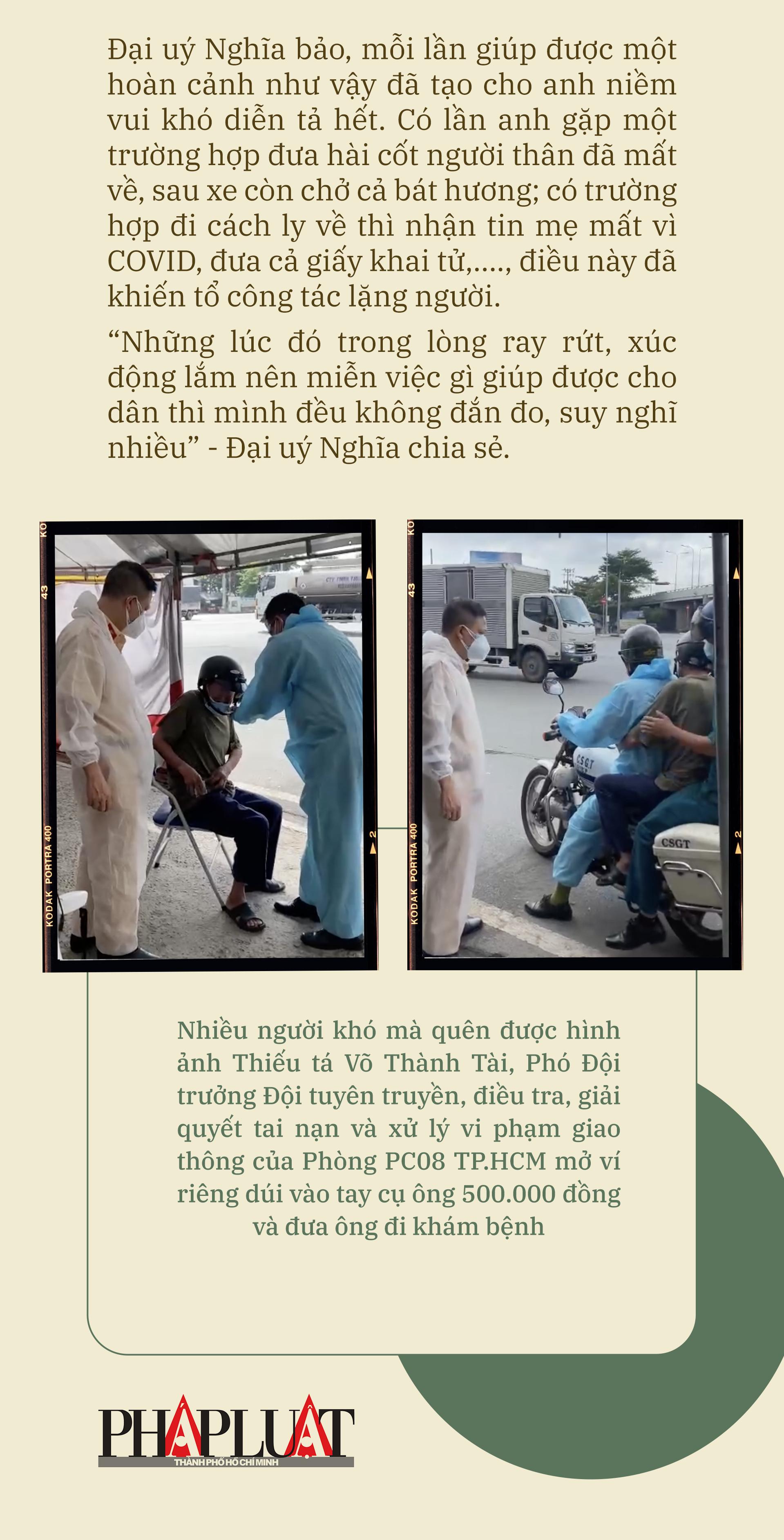 Emagazine: CSGT TP.HCM - Tấm lá chắn trong cuộc chiến với COVID-19 - ảnh 20