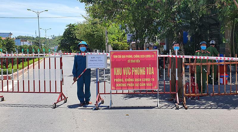 Phú Yên phong tỏa toàn bộ 1 xã ở Tuy Hòa do có nhiều ca mắc COVID-19