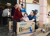 Asanzo tặng tivi cho gia đình thủ thành Bùi Tiến Dũng