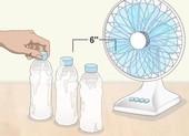 'Tự chế' quạt làm mát tại nhà không tốn tiền trong mùa nóng