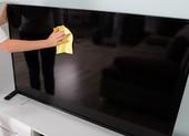 Cách vệ sinh bụi bẩn cho TV màn hình phẳng