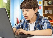 Trẻ em chơi game và mua sắm nhiều trong thời gian giãn cách