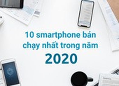 10 smartphone bán chạy nhất trong năm 2020
