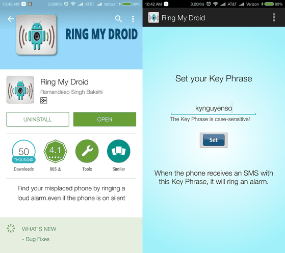 ring-my-droid