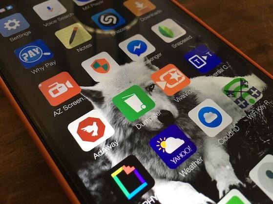 Dumpster là lựa chọn bổ sung thùng rác cho Android