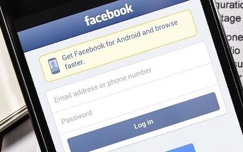 Facebook có màu xanh dương chủ đạo