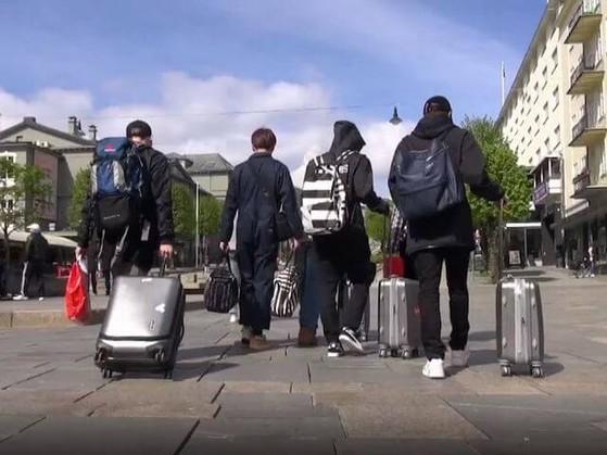 Theo BTS du lịch vòng quanh châu Âu
