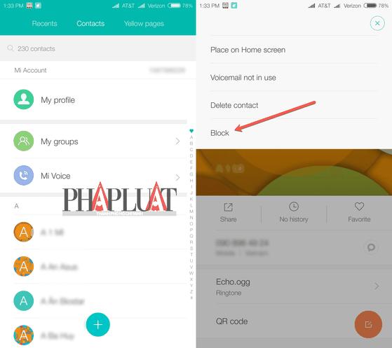 Cách chặn cuộc gọi quấy rối trên Android