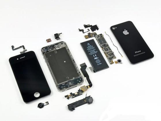 Linh kiện lắp ráp iPhone