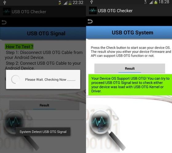 USB OTG Checker
