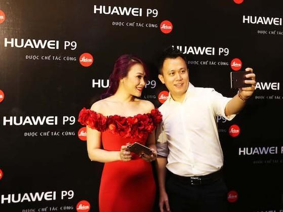 Đại sứ thương hiệu Huawei P9 là Mỹ Tâm