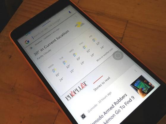 Trợ lý ảo bằng giọng nói, Google Now.