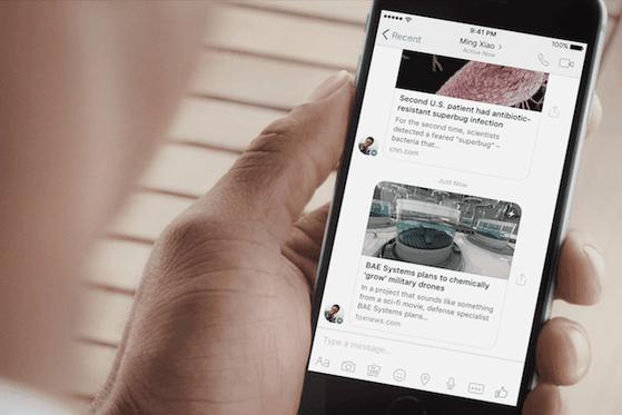 Đọc báo tức thời nhờ Instant Articles