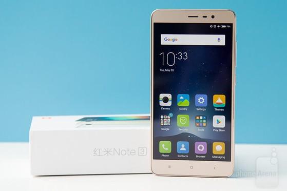 Redmi Note 3 thu hút khá nhiều người dùng