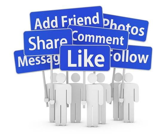 Like, share và comment có chọn lọc