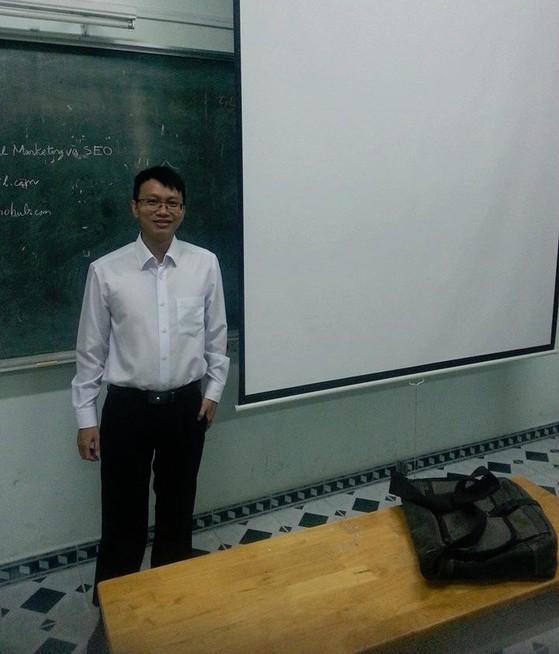 Anh Hoàng Huy - Thành viên nhóm hỗ trợ Facebook tại Việt Nam