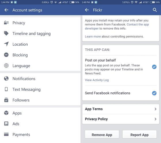 Xóa các tựa game đáng ngờ khỏi Facebook