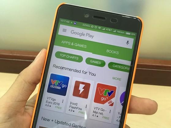 Không thể kết nối đến máy chủ Google Play