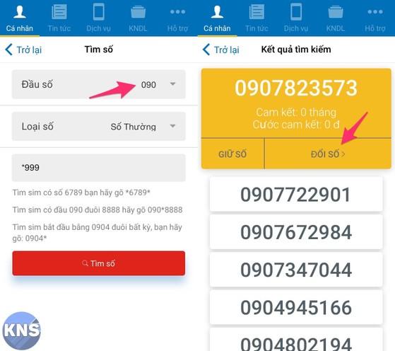 Cách đổi số điện thoại MobiFone ngay tại nhà