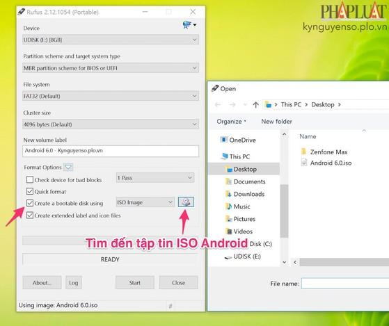 Cách chạy Android 6 trực tiếp trên USB
