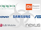38 mẫu smartphone bị cài sẵn phần mềm độc hại