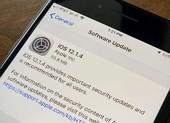 Cập nhật ngay iOS 12.1.4 để không bị theo dõi từ xa