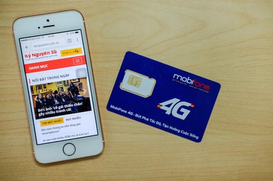 Cách đăng kí các gói cước 4G giá rẻ của MobiFone