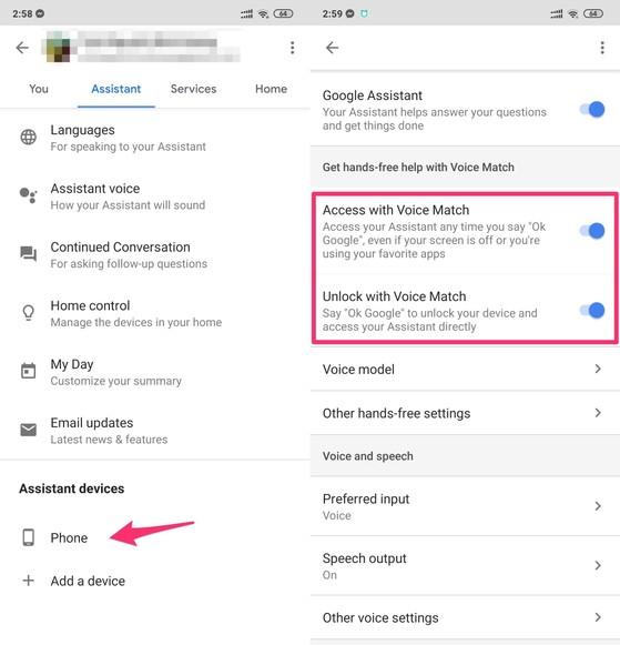 Cách mở Google Assistant khi tắt màn hình điện thoại
