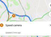 Google Maps cảnh báo các điểm bắn tốc độ trên đường