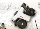 Xuất hiện mẫu xe điện siêu nhỏ gọn khi gấp lại bằng tờ giấy A3