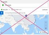 Facebook hiển thị sai lệch chủ quyền Hoàng Sa và Trường Sa