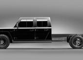 Lộ diện mẫu xe bán tải điện cạnh tranh với Tesla Cybertruck