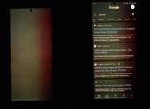 Samsung Galaxy Note 20 Ultra bị dính lỗi màn hình xanh?