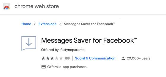 Messages-Saver-for-Facebook