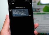 Người dùng ngân hàng nhận được tin nhắn lừa đảo trong mùa dịch