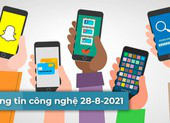 4 thông tin công nghệ đáng chú ý trong ngày 28-8