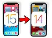 Cách hạ cấp iOS 15 về iOS 14 không mất dữ liệu