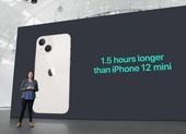 So sánh chi tiết thời lượng pin trên iPhone 13 series, 12 và 11