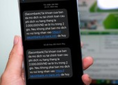 Người dùng ngân hàng lại hoang mang vì tin nhắn lạ