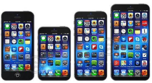 Apple có thể đa dạng hóa kích thước màn hình của iPhone trong các thế hệ tiếp theo. Ảnh minh họa.