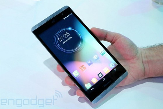 The humongous device will be selling in China before it hits the United States. It packs some pretty appealing specs which include a Snapdragon 800 chipset, 13MP camera, Android 4.4 KitKat, and a generous 3,900mAh battery (although with the size of its display, it certainly needs all of the juice it can get). The only downside is that the Hisense X1 is not LTE capable, just HSPA+.