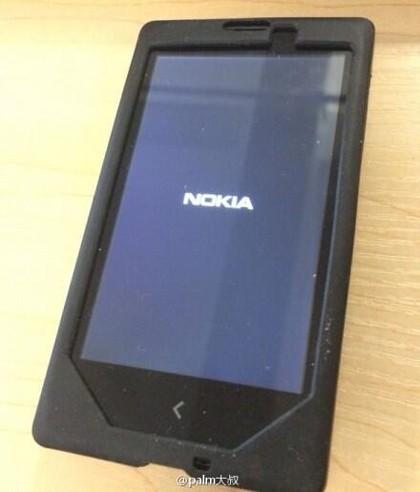 Ảnh thực tế của Normandy, chiếc điện thoại Android của Nokia.