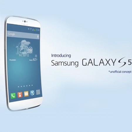 Một ý tưởng về chiếc điện thoại Galaxy S5.