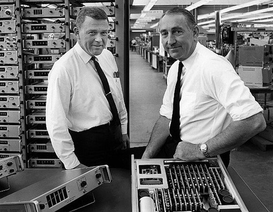 Bill Hewlett and Dave Packard