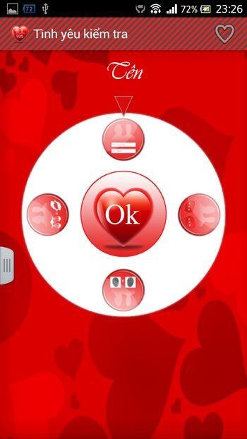"""Những phần mềm hài hước giúp """"đo"""" chỉ số tình yêu"""