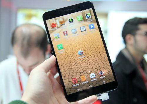 MediaPad X1 là thiết bị đáng chú ý nhất mà Huawei ra mắt tại triển lãm MWC 2014